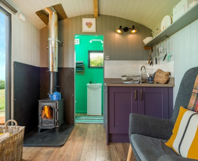 Glamping holidays in Carmarthenshire, South Wales - Big Cwtch