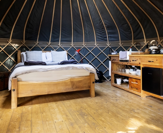 Glamping holidays in Carmarthenshire, South Wales - The Yurt Hideaway