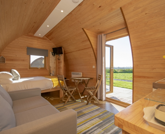Glamping holidays in Cheshire, Northern England - Bradley Hall Rural Escapes