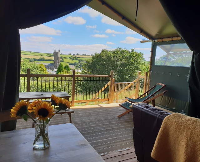 Glamping holidays in South Devon, South West England - Brackenhill Glamping