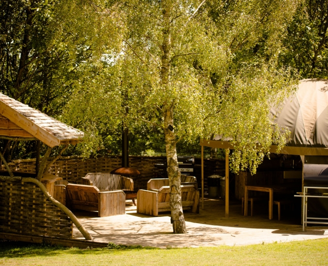 Glamping holidays in Isle of Wight, South East England - The Garlic Farm