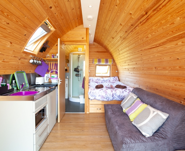 Glamping holidays in Kent, South East England - Rankins Farm Glamping