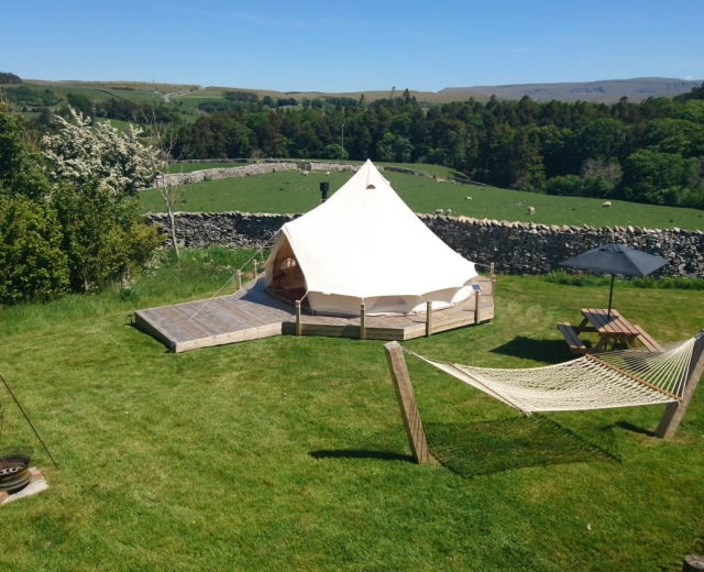 Glamping holidays in the Lake District, Cumbria, Northern England - Low Greenside Farm