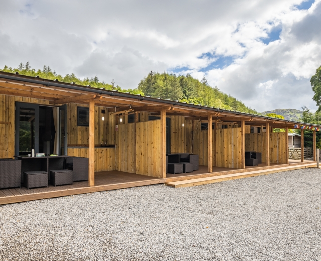 Glamping holidays in the Lake District, Cumbria, Northern England - Woolpack Farm Glamping