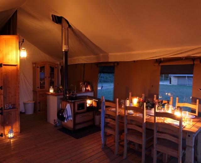 Glamping holidays in Norfolk, Eastern England - Wild Luxury, The Hideaway
