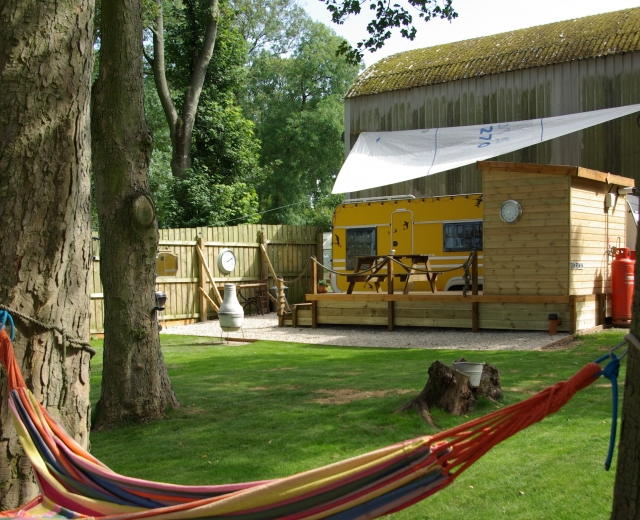 Glamping holidays in North Yorkshire, Northern England - Dale Farm Holidays