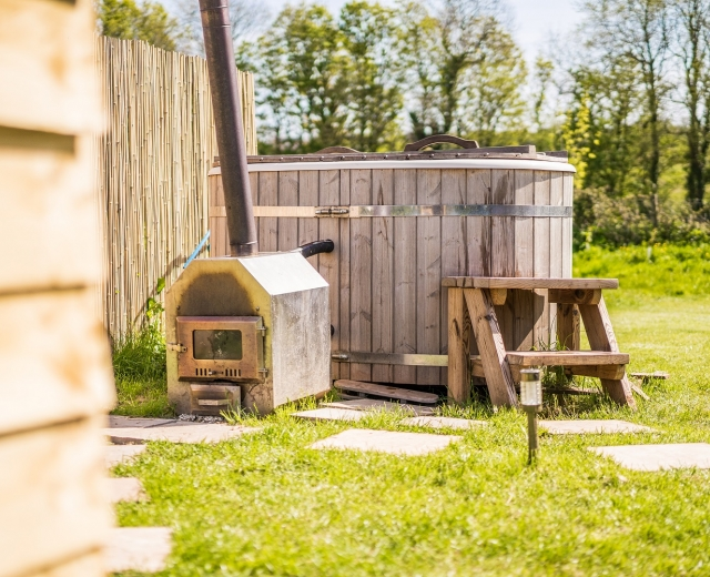 Glamping holidays in Pembrokeshire, South Wales - Beavers Retreat