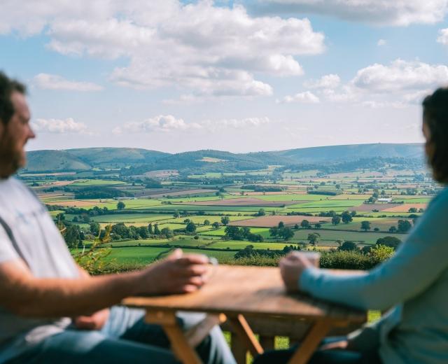 Glamping holidays in Powys, Mid Wales - Hush Hush Glamping