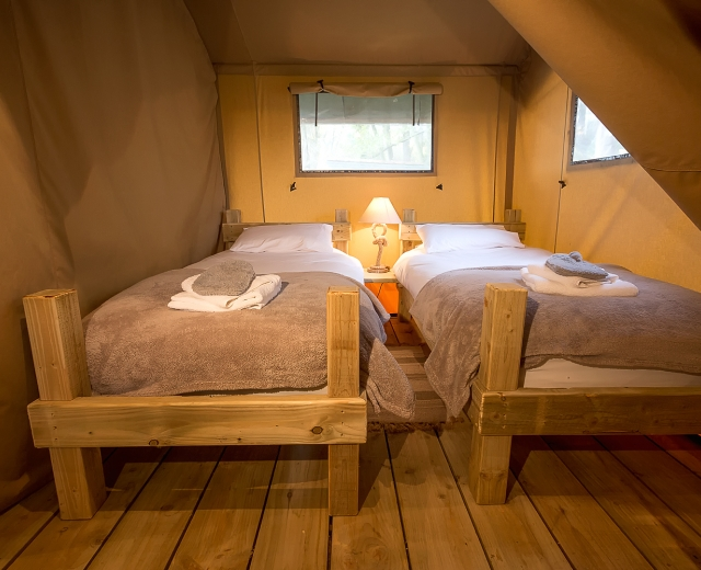 Glamping holidays in Shropshire, Central England - Sweeney Farm Glamping