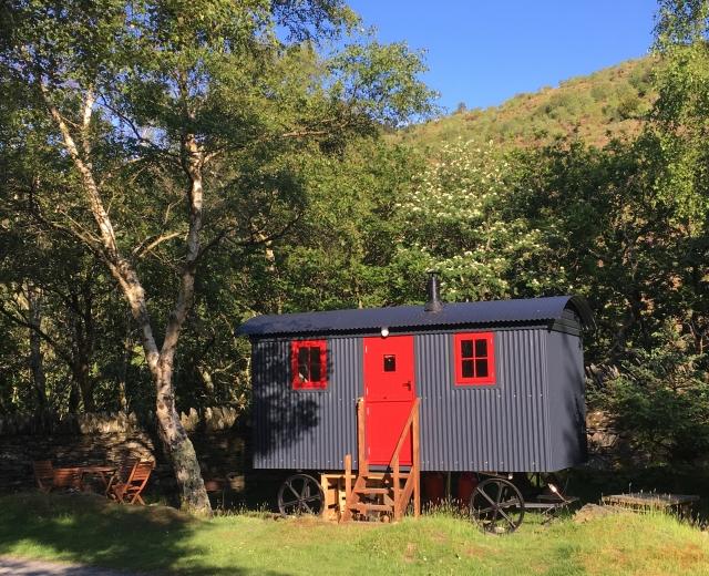 Glamping holidays in Snowdonia, North Wales - Graig Wen