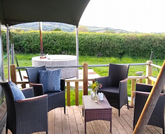 Glamping holidays in Somerset, South West England - Middle Stone Farm