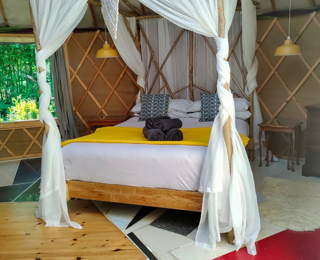 Glamping holidays in Somerset, South West England - The Roundhouse