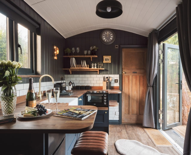 Glamping holidays in Somerset, South West England - The Shepherds Hut Retreat