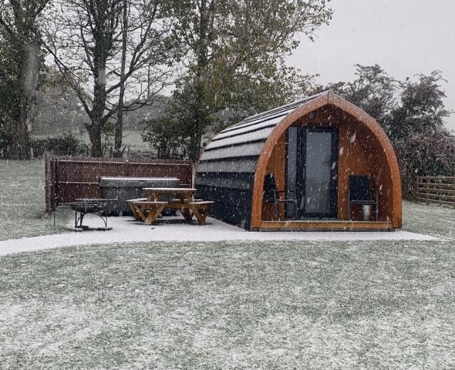 Glamping holidays near Snowdonia in Conwy, North Wales - Wern Farm