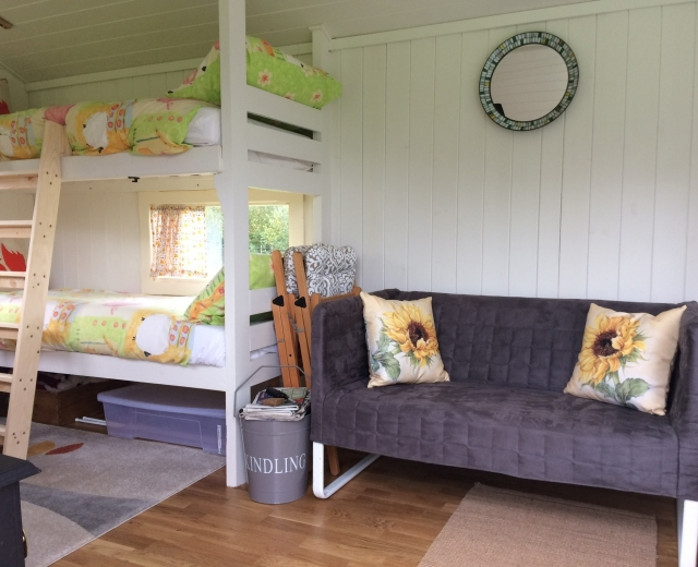 Glamping holidays in East Sussex, South East England - Bluecaps Farm Glamping