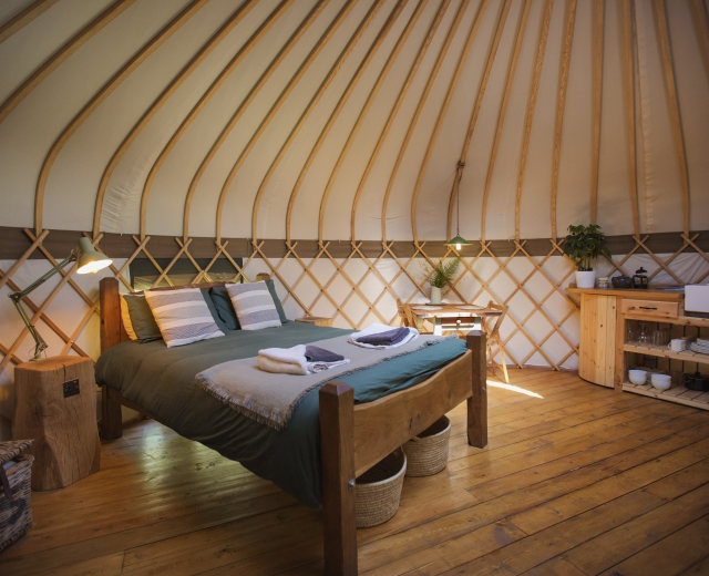 Glamping holidays in Carmarthenshire, South Wales - The Country Yurt