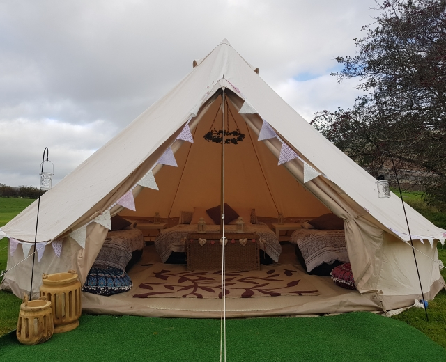 Glamping holidays in the Lake District, Cumbria, Northern England - Howgills Hideaway
