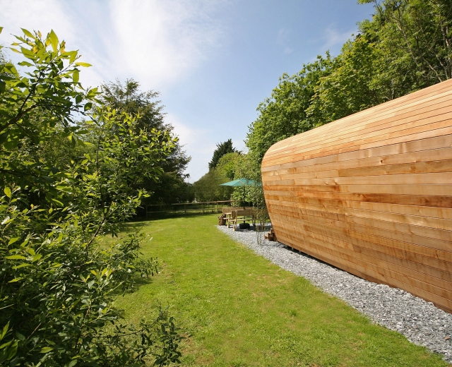 Glamping holidays in Devon, South West England - Sunridge EcoPod