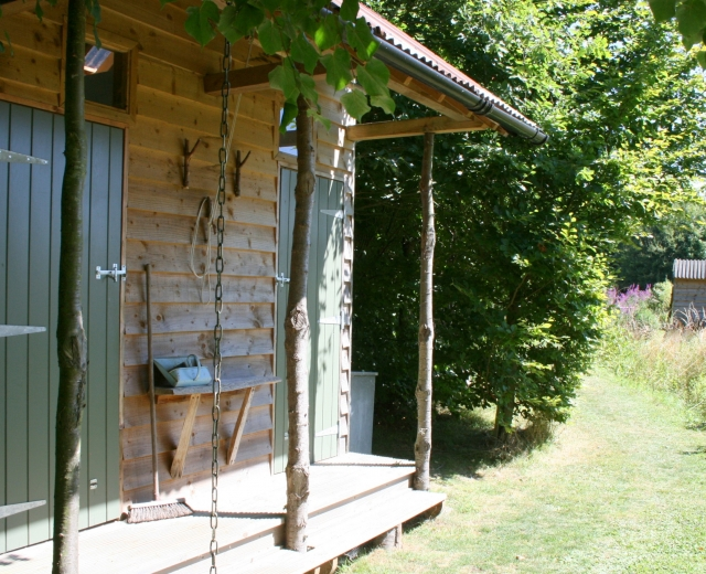 Glamping holidays in Essex, Eastern England - Borleymere Shepherd's Hut
