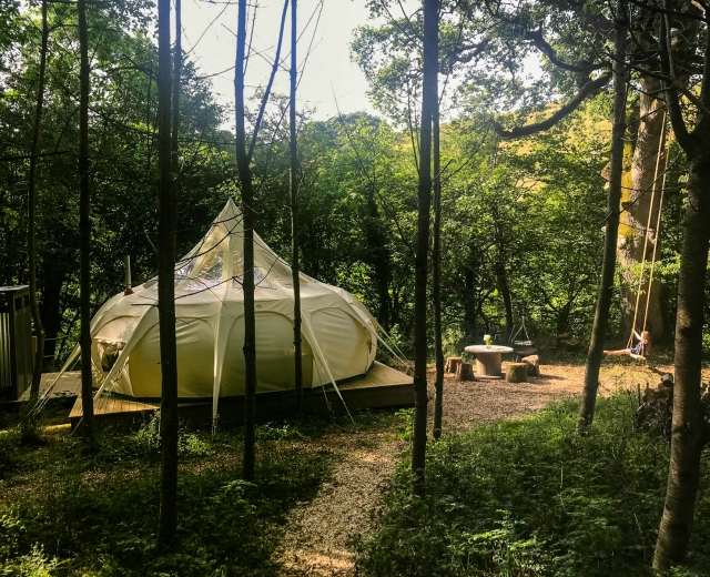Glamping holidays in Powys, Mid Wales - Eithinog Hall B&B