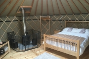 Glamping holidays in Carmarthenshire, South Wales - Brechfa Glamping