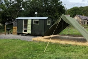 Glamping holidays in Carmarthenshire, South Wales - Cwmberach Uchaf Farm