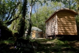 Glamping holidays in Carmarthenshire, South Wales - The Chestnut Cabin
