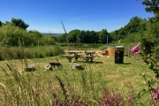 Glamping holidays in Ceredigion, West Wales - Sloeberry Farm