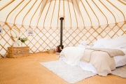 Glamping holidays in Cornwall, South West England - Lower Marsh Farm