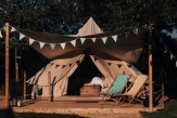 Glamping holidays near the Cotswolds, Gloucestershire, South West England - The Glamping Orchard