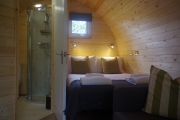 Glamping holidays in County Durham, North East England - West Hall Glamping