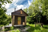 Glamping holidays in Devon, South West England - Bulworthy Project Cabin