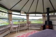 Glamping holidays in Devon, South West England - Fingle Caban