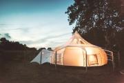 Glamping holidays in Glamorgan, South Wales - Glamping Meadows
