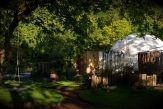 Glamping holidays in Gloucestershire, South West England - The Dome Garden