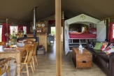 Glamping holidays in Hampshire, South East England - Brocklands Farm Glamping