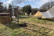 Glamping holidays in Hampshire, South East England - Lightfoot's Farm