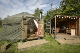 Glamping holidays near the Lake District, Cumbria, Northern England - Drybeck Farm