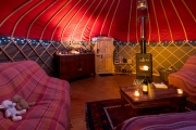 Glamping holidays in the Lake District, Cumbria, Northern England - Long Valley Yurts, Keswick