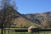 Glamping holidays in the Lake District, Cumbria, Northern England - Long Valley Yurts, Ullswater