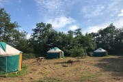 Glamping holidays in Monmouthshire, South Wales - Pentwyn Farm