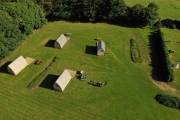 Glamping holidays in North Cornwall, South West England - Higher Culloden Farm