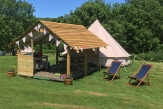Glamping holidays in North Devon, South West England - Under the Milky Way
