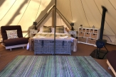Glamping holidays in North Yorkshire, Northern England - Catgill Farm