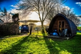 Glamping holidays in North Yorkshire, Northern England - Hillcrest Park