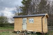 Glamping holidays in North Yorkshire, Northern England - Strawberry Safari Shepherds Huts
