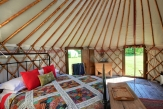 Glamping holidays in North Yorkshire, Northern England - Swallowtails