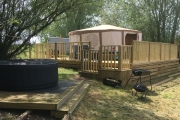Glamping holidays in Northamptonshire, Central England - Grendon Lakes
