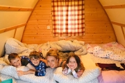 Glamping holidays in Northumberland, Northern England - Pot-a-Doodle Do Wigwams