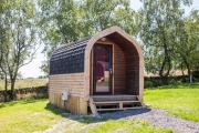 Glamping holidays in the Peak District, Derbyshire, Central England - Ernest's Retreat